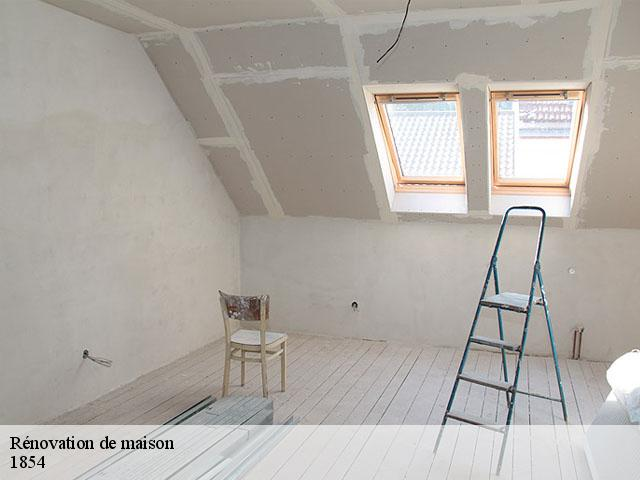 Rénovation de maison  1854