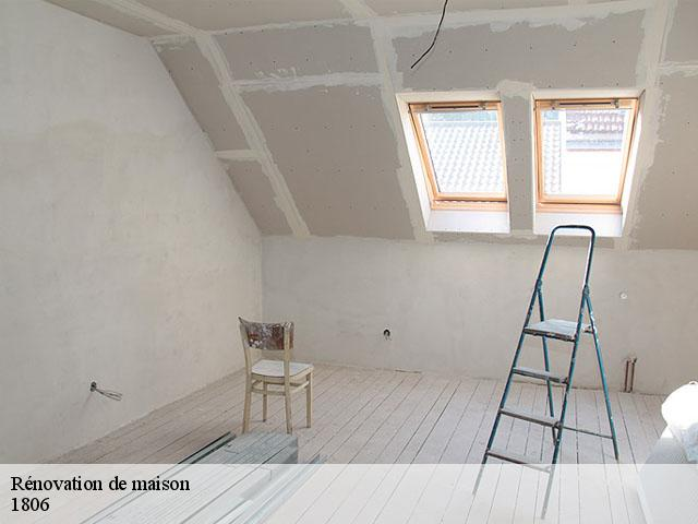 Rénovation de maison  1806